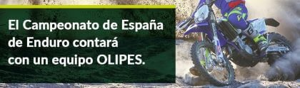 The Spanish Enduro Championship will feature an OLIPES team