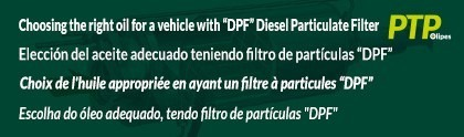 "Choosing the right oil for a vehicle with a ""DPF"" Diesel Particulate Filter"